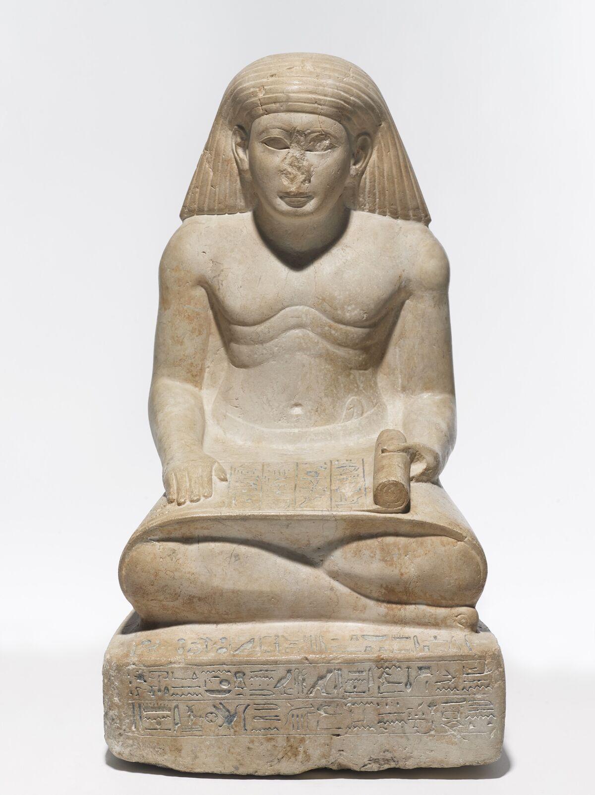 Amunhotep, Son of Nebiry, ca. 1426–00 B.C.E. Courtesy of the Brooklyn Museum.