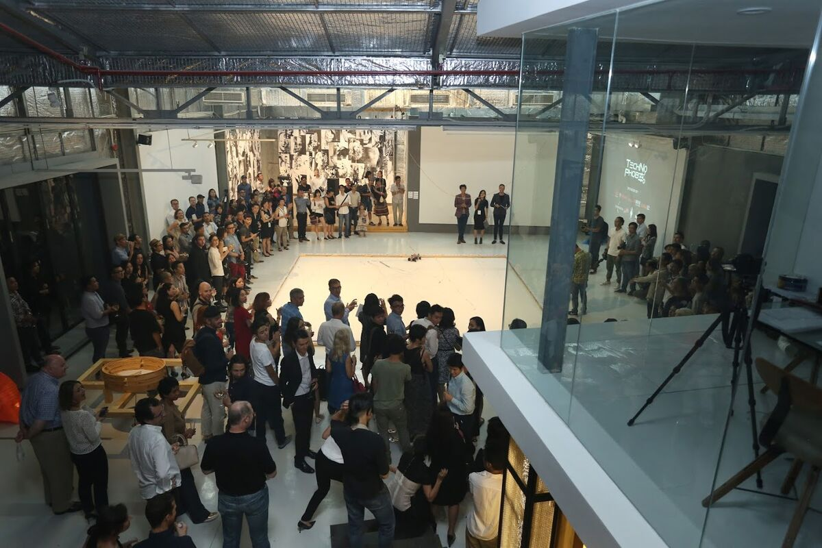 """The opening of """"TechNoPhobe,"""" courtesy of Factory Contemporary Arts Centre."""