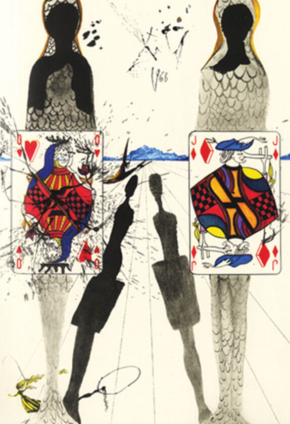 Salvador Dali, The Queen's Croquet Ground, 1969.© 2016 Artists Rights Society (ARS), New York / ADAGP, Paris.