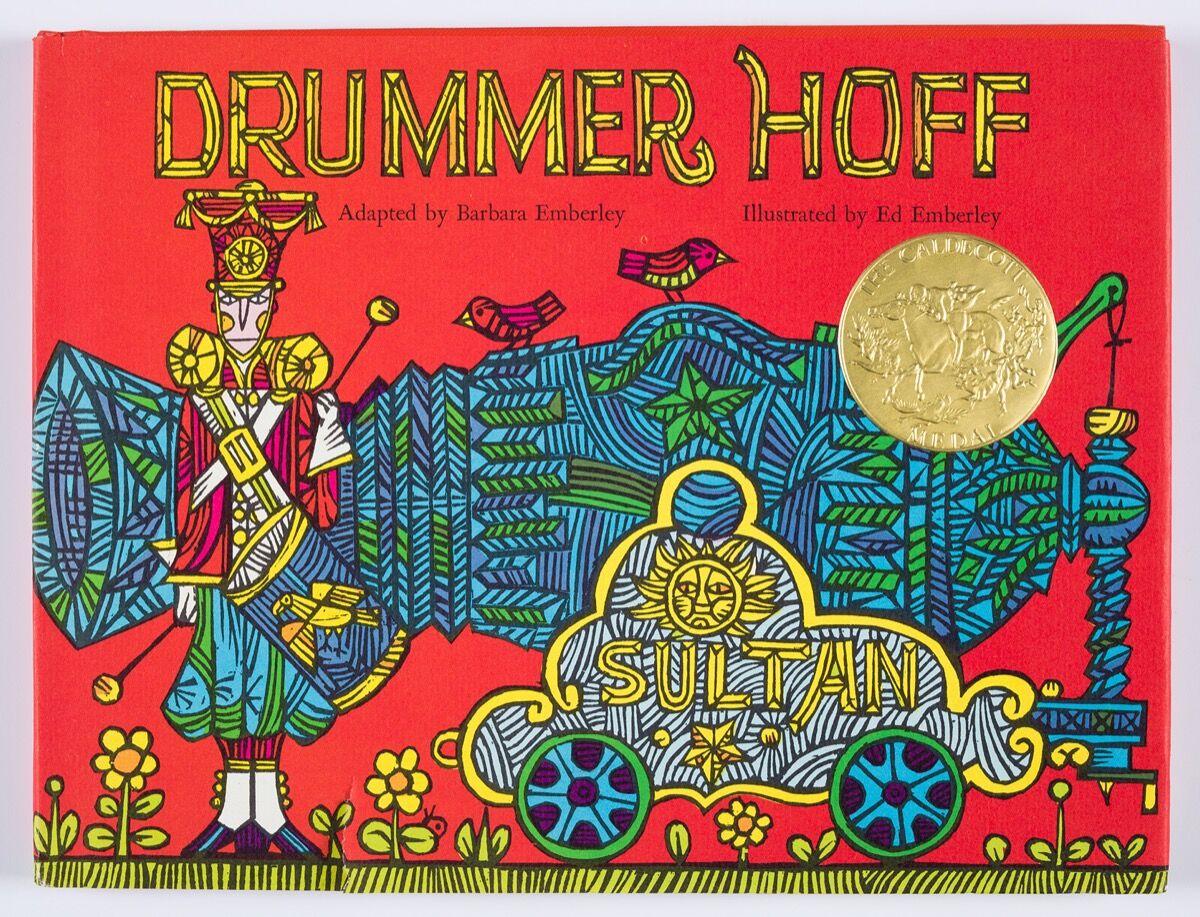 Ed Emberley, Drummer Hoff, tradebook. Courtesy of the artist.