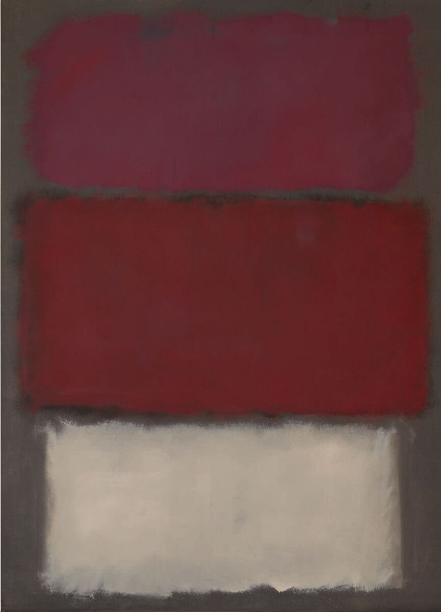 Mark Rothko, Untitled, 1960. Courtesy of Sotheby's.