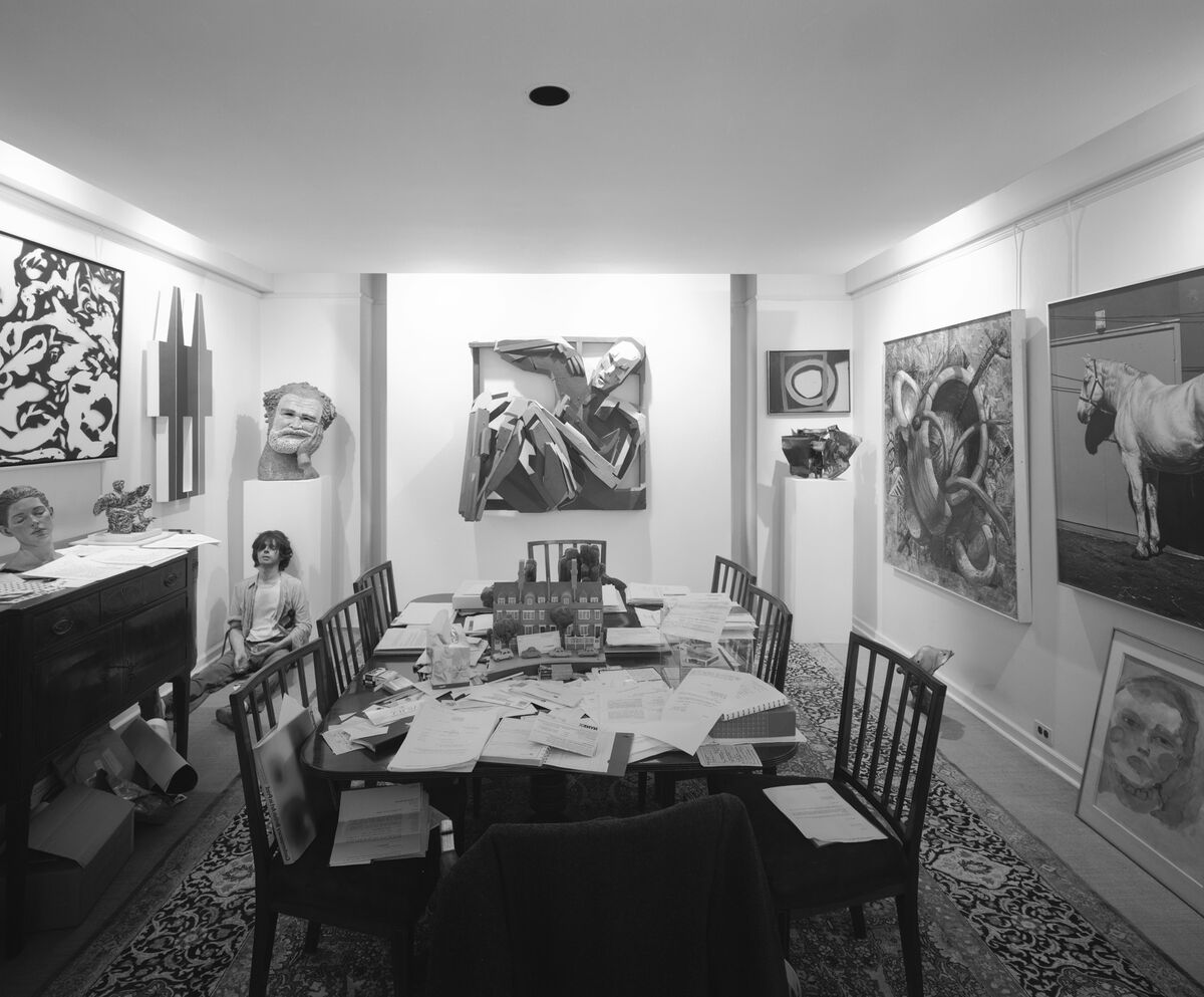 Inside the New York apartment of Richard Brown Baker. Photo © Jerry Thompson. Courtesy of the RISD Museum.