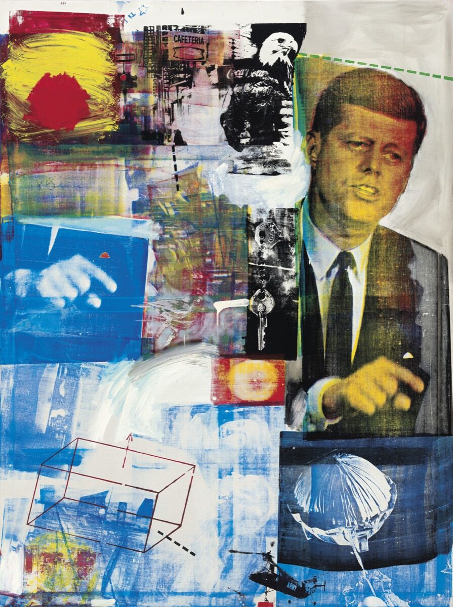 Robert Rauschenberg, Buffalo II , 1964. Courtesy of Christie's.
