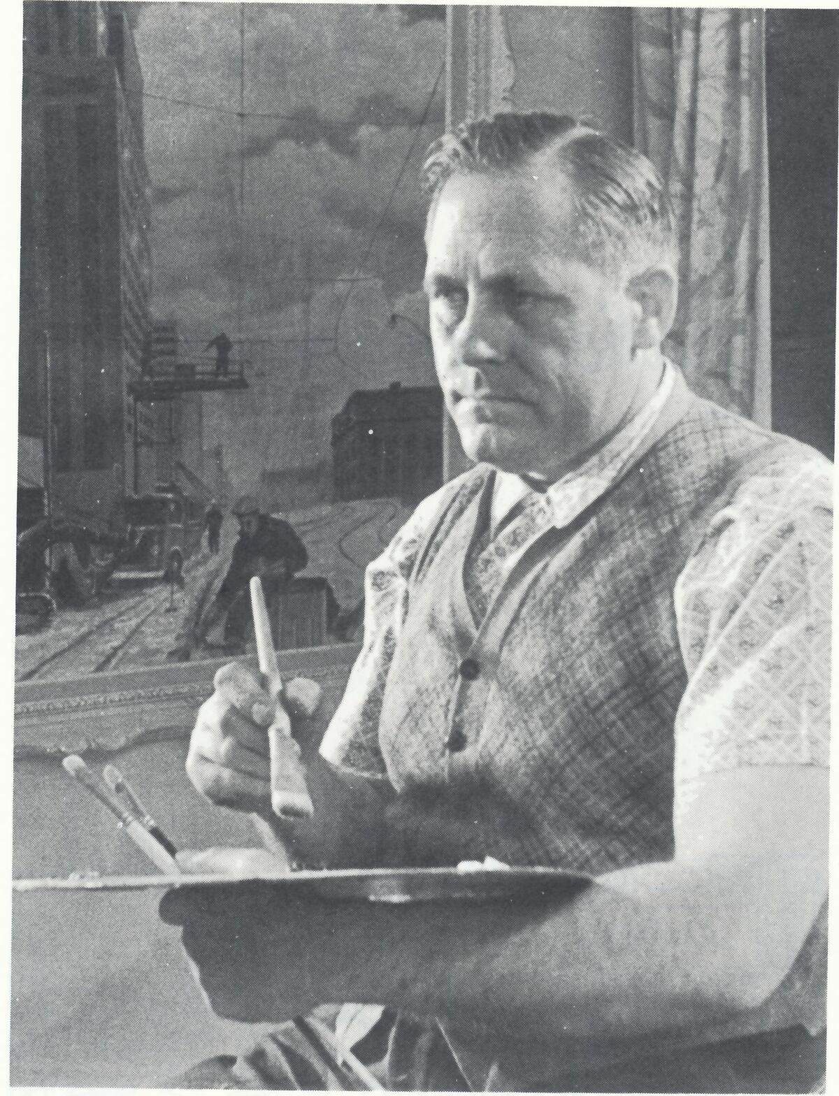 Portrait of Bill. Courtesy of Alexander Art.