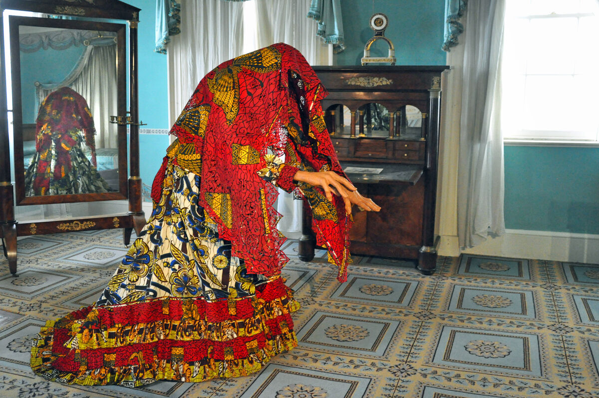 Yinka Shonibare MBE, The Ghost of Eliza Jumel, 2015 (installation image). © Yinka Shonibare MBE/Courtesy James Cohan Gallery, New York/Shanghai. Photo: Trish Mayo.
