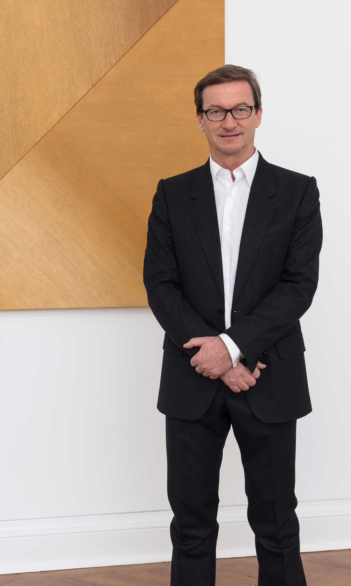 Portrait of Thaddaeus Ropac by Mark Blower. Courtesy of Galerie Thaddaeus Ropac.