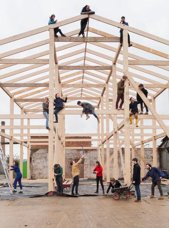 Turner Prize 2015 shortlist, Assemble Group Photo 2014. Image © Assemble, courtesy of Tate.