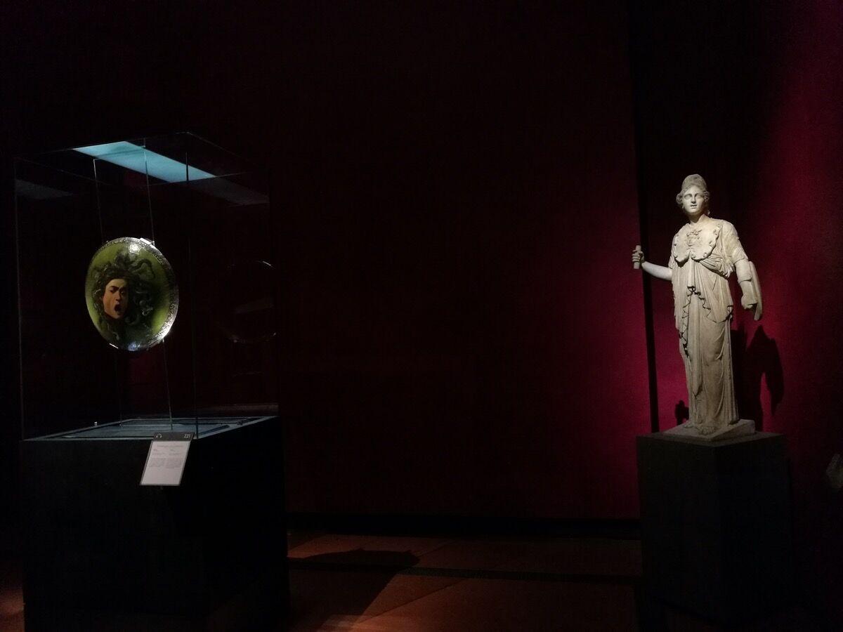 Vista parcial de uma das salas da Uffizi Gallery, 2018. Cortesia Uffizi Gallery