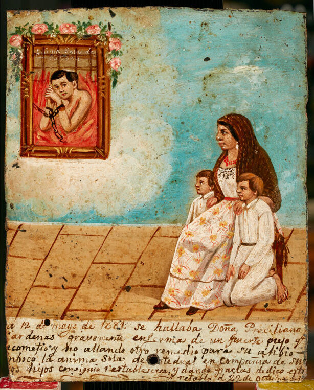 Image result for Ex Voto Paintings MEXICAN