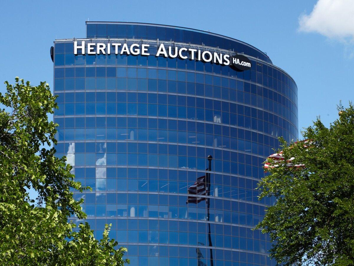 Heritage Auctions headquarters in Dallas. Photo by SlabbedPurpleNurple, via Wikimedia Commons.