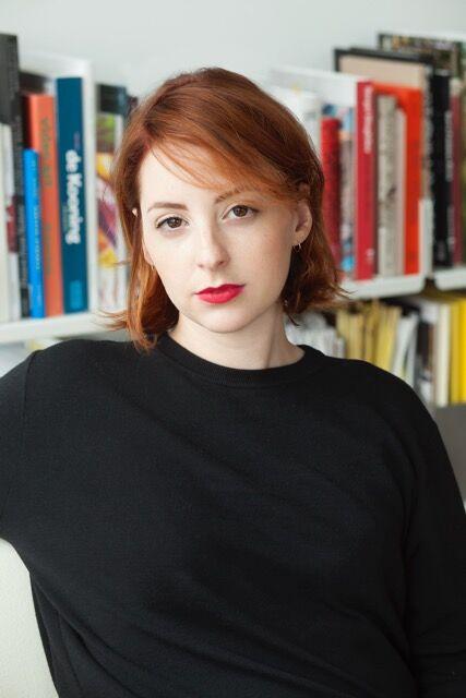 Hannah Hoffman, director of Hannah Hoffman Gallery. Photo by Sophie Elgort, courtesy of Hannah Hoffman Gallery.