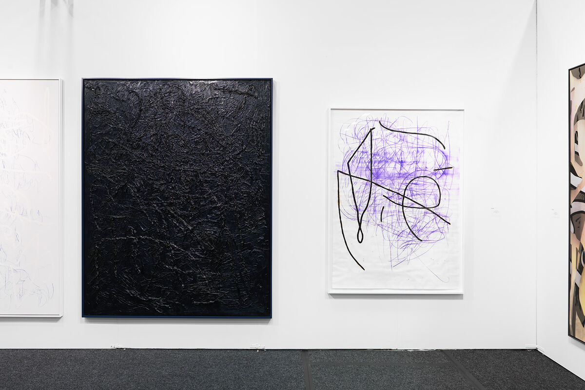 Installation view of works by Jana Schröder at MIER GALLERY's booth at NADA New York, 2016. Photo by Object Studies for Artsy.