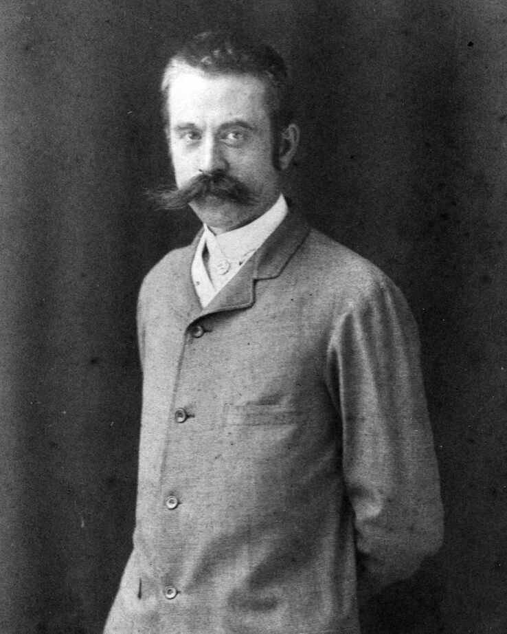 Stanford White, 1985. Image via Wikimedia Commons.