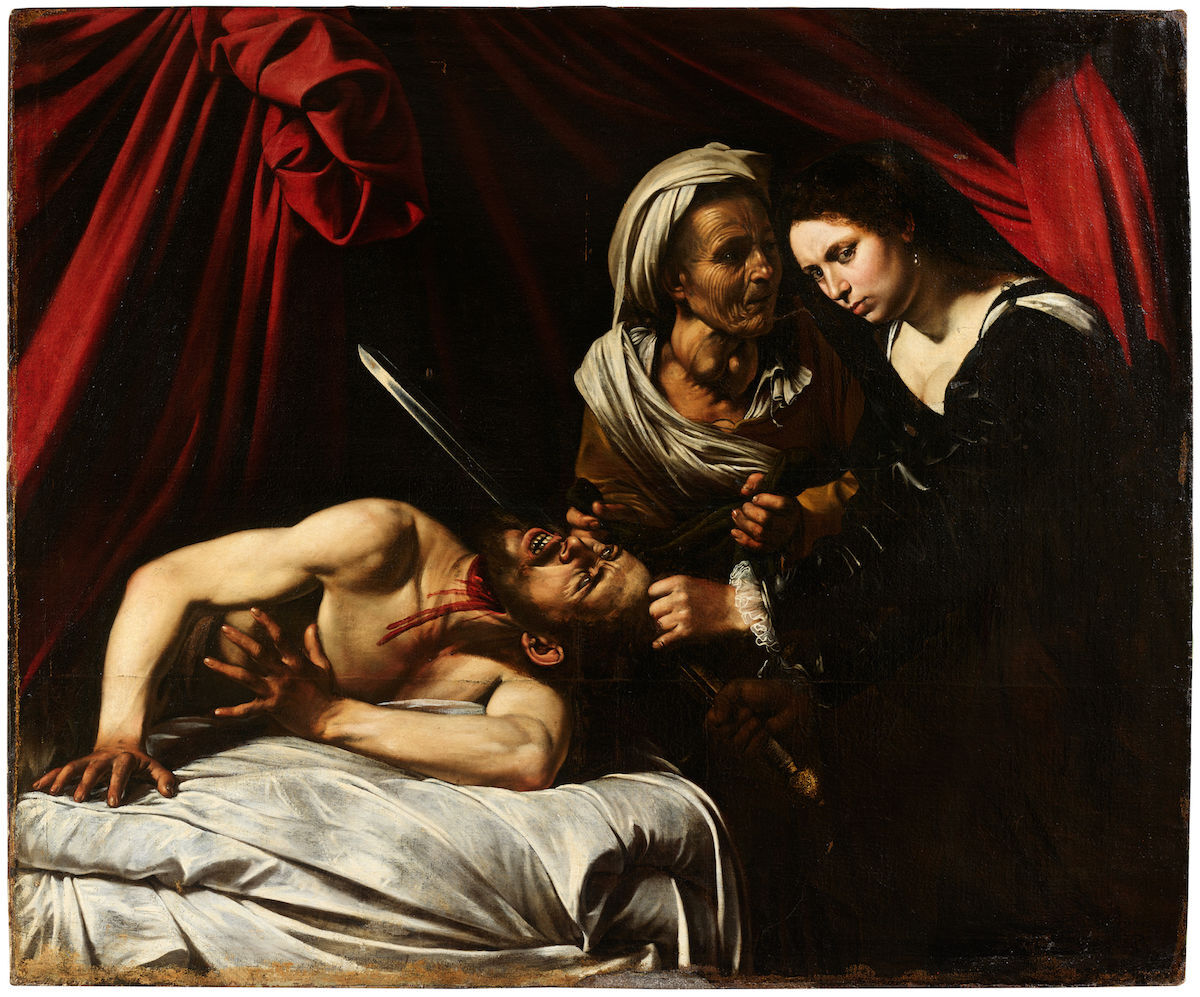 Caravaggio, Judith and Holofernes, ca. 1607. Courtesy of Eric Turquin.
