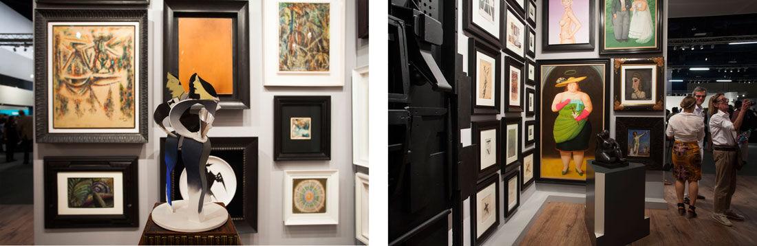 Installation view of Gmurzynska's booth at Art Basel in Miami Beach, 2015. Photos byOriol Tarridas for Artsy.