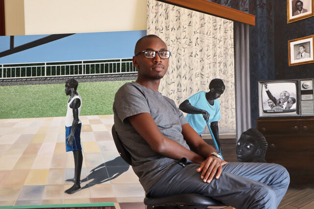 Portrait of Ian Mwesiga. Courtesy of the artist.