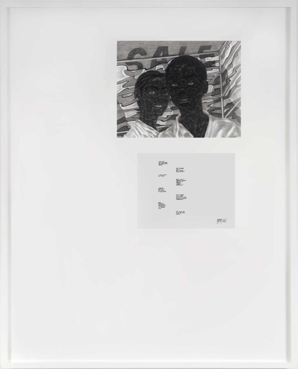 Toyin Ojih Odutola, Chosen, 2020. © Toyin Ojih Odutola. Courtesy of the artist and Jack Shainman Gallery, New York.