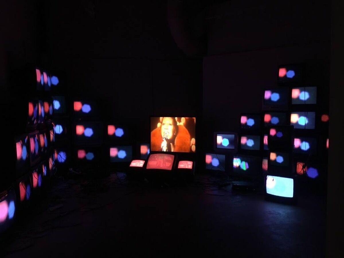 Paul Stephen Benjamin, God Bless America (installation view), 2016. Courtesy of the artist.