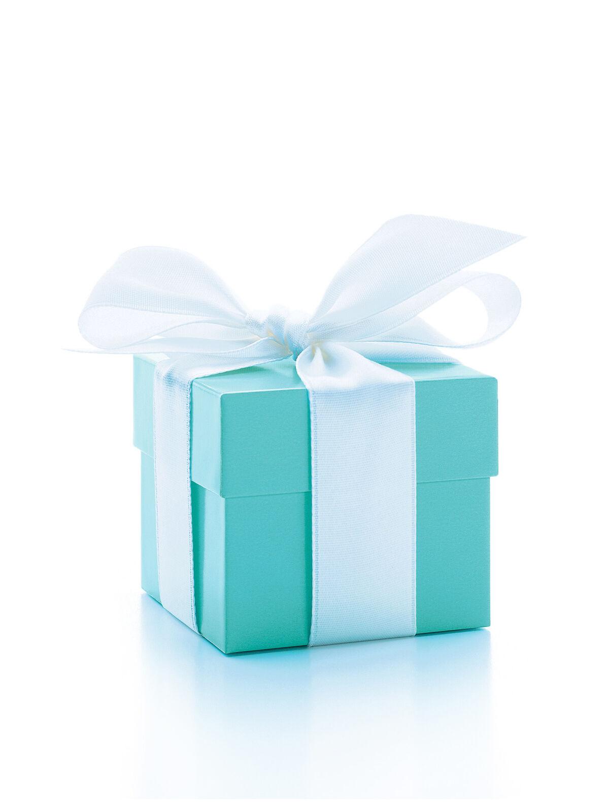 Tiffany Blue Box®. © Tiffany & Co. Courtesy of the Tiffany & Co. Archives.