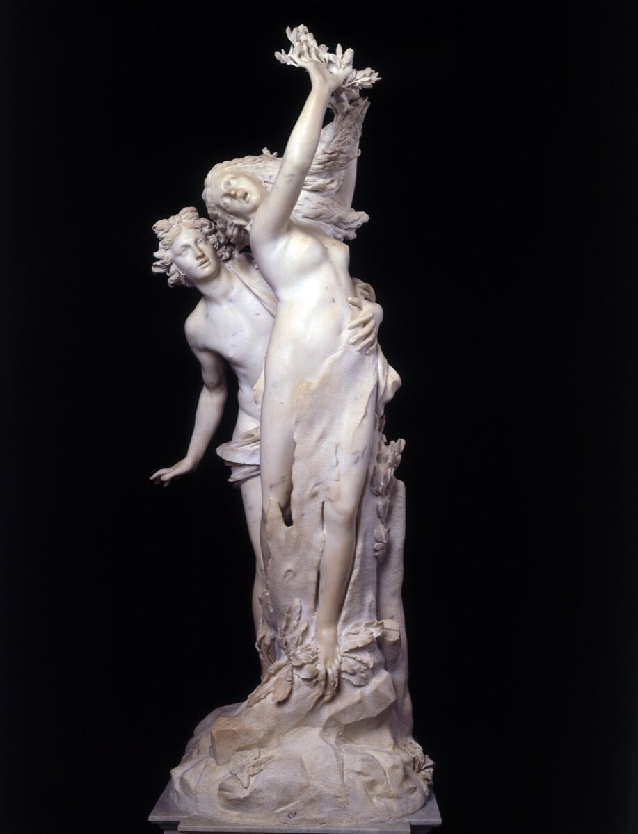 Gian Lorenzo Bernini, Apollo and Daphne, 1622-25. Courtesy of Galleria Borghese.