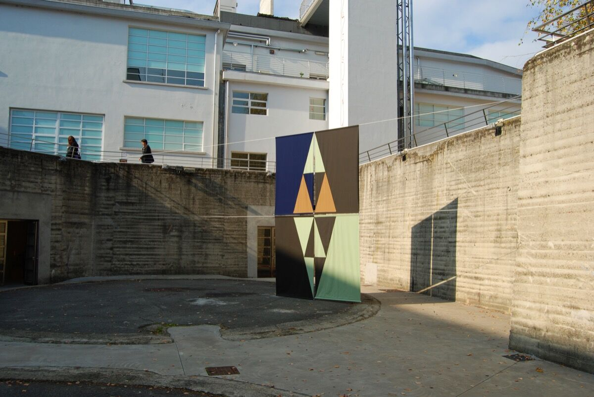"Felipe Mujica, Untitled (El Quisco), 2013. Installation view of the exhibition ""Ways of Working: The Incidental Object,"" at Fondazione Merz, Turin, Italy. Image courtesy of Fundação Bienal de São Paulo."