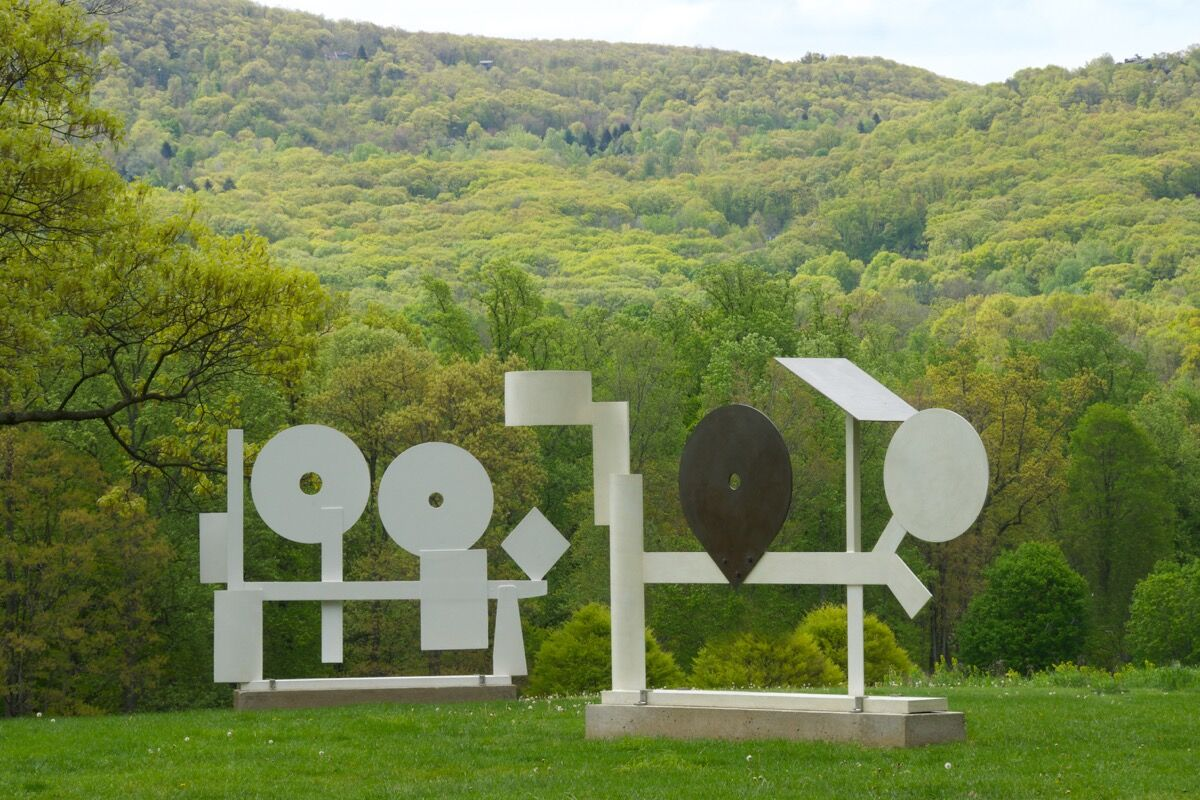 David Smith, Primo Piano I, 1962. Courtesy of The Estate of David Smith, New York, and Hauser & Wirth. © The Estate of David Smith/Licensed by VAGA, New York, NY. Photo by Jerry I. Thompson, courtesy of Storm King Art Center.