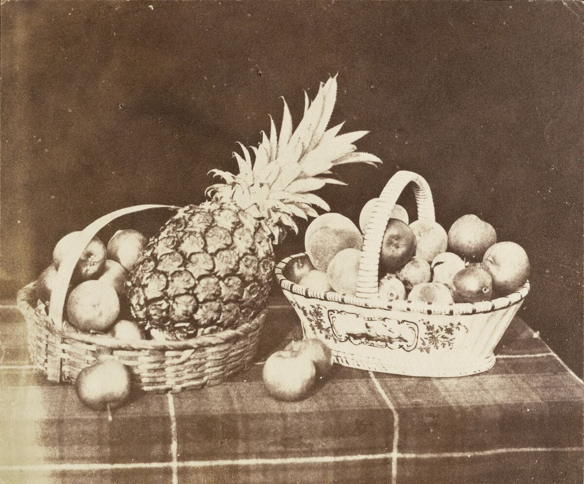 William Henry Fox Talbot, A Fruit Piece, 1845. Image via Wikimedia Commons.