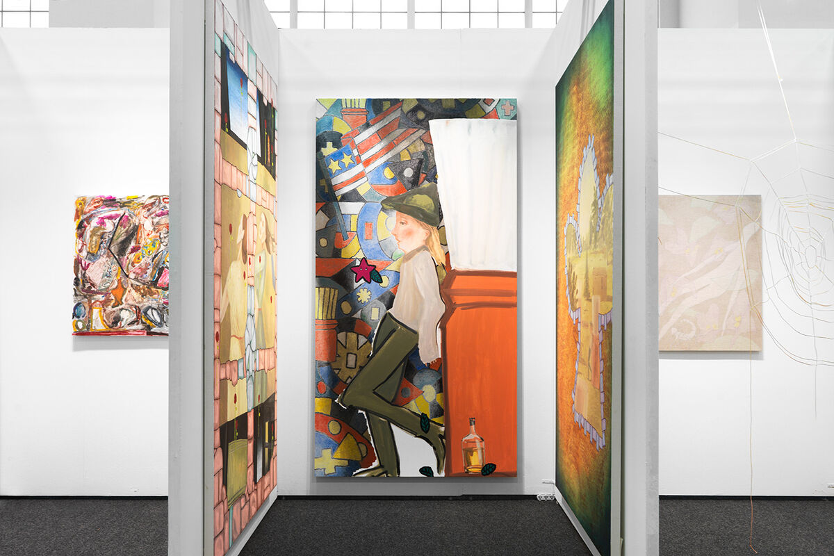 Installation view of booth at NADA New York, 2016. Photo by Matt Booth for Artsy.