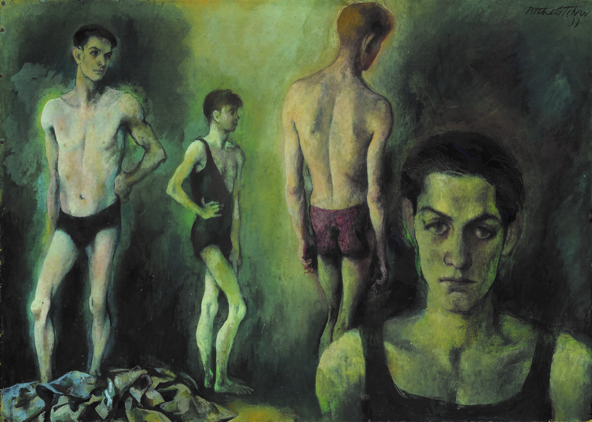 Pavel Tchelitchew, Dancers, n.d. Courtesy of Sotheby's.