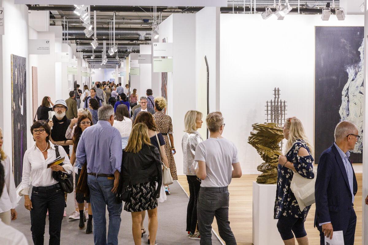 Art Basel in Basel 2019. Image courtesy of Art Basel.
