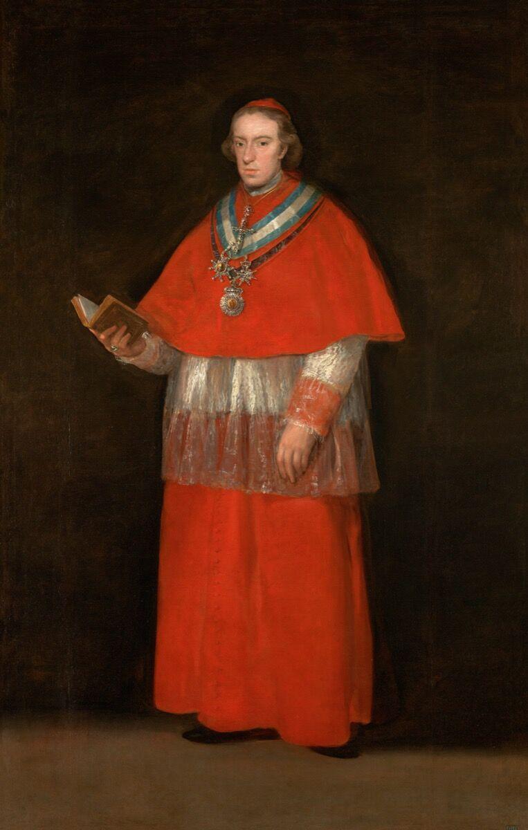 Francisco de Goya, Cardinal Don Luis María de Borbón y Vallabriga, ca. 1800. Image © Archivo Fotografico Museo Nacional del Prado. Courtesy of the Museo Thyssen Bornemisza.