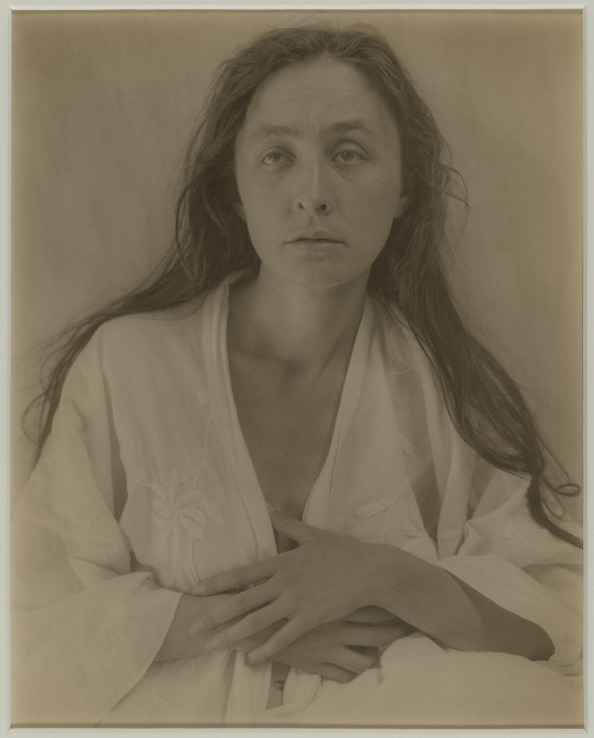 Alfred Stieglitz, Georgia O'Keeffe: A Portrait (1), 1918. Photograph © Museum of Fine Arts, Boston.