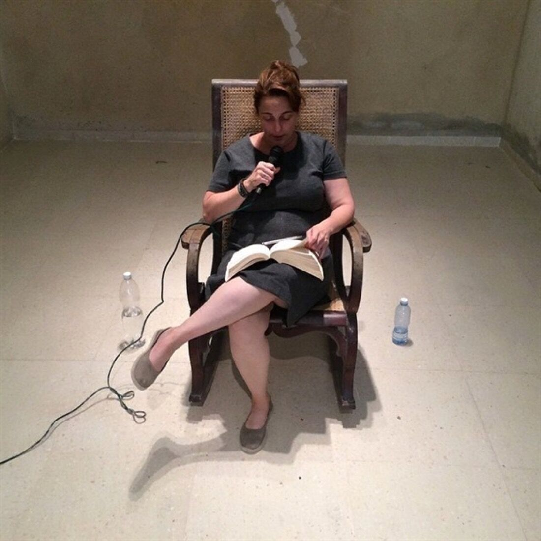 Tania Bruguera, Opening Session of the foundational process of the Hannah Arendt International Institute of Artivism, 2015.Photo by Pablo León de la Barra, courtesy of Studio Bruguera and Yo Tambien Exijo Platform.