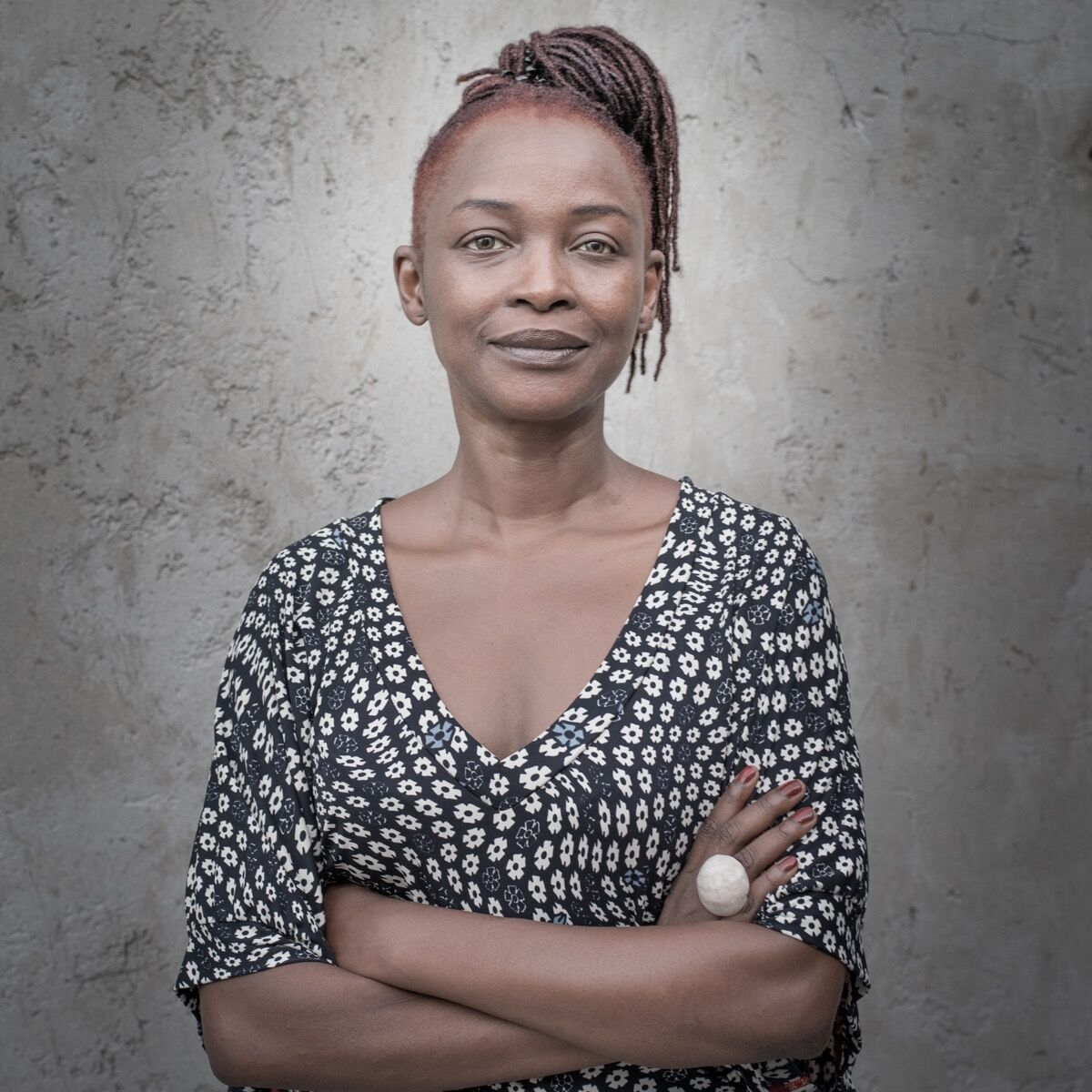 Portrait of Koyo Kouoh by Antoine Tempé. Courtesy of RAW Material Company, Dakar Senegal.