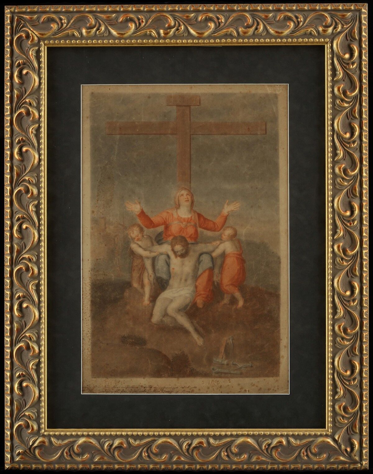 Michelangelo, Crucifixion, date unknown. Courtesy Yulong- Eco-Materials Ltd., via Global News Wire.