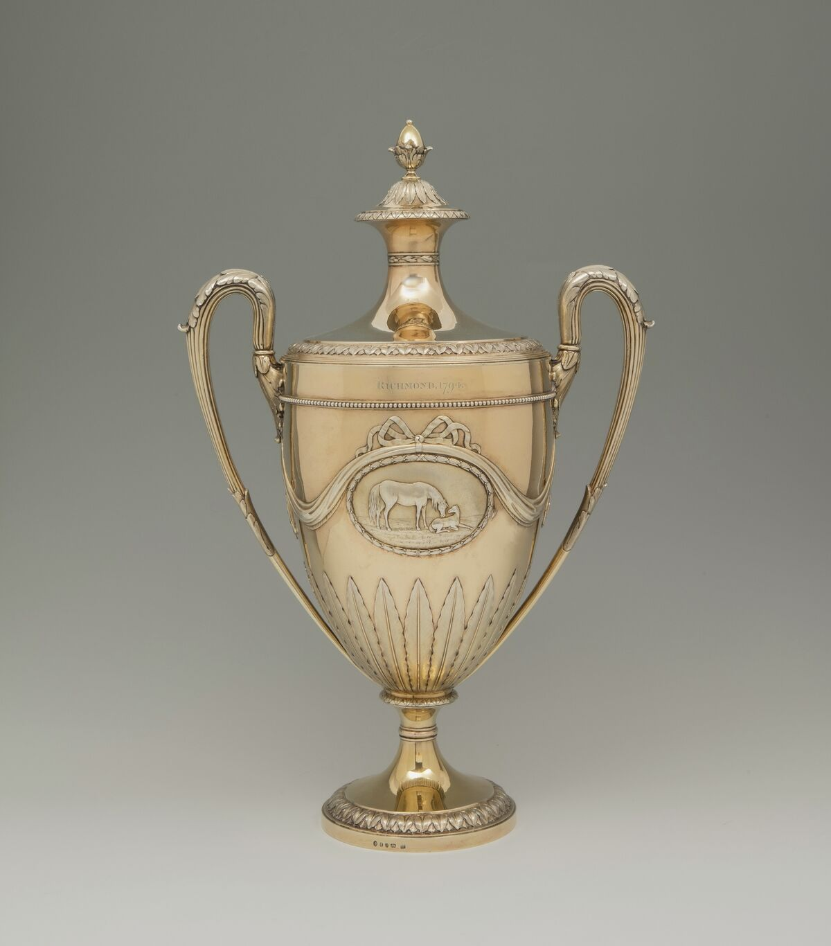 Robert and Thomas Makepeace, The Richmond Cup, 1794. Image courtesy of S.J. Shrubsole.