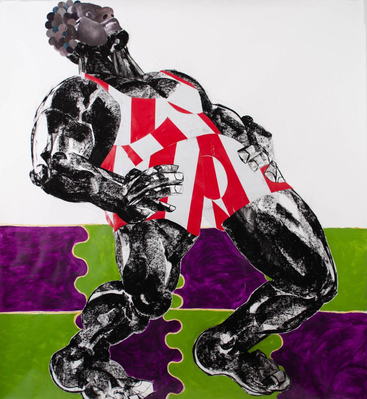 Clotilde Jiménez, Pose No. 6, 2020. Courtesy of the artist and Mariane Ibrahim Gallery.