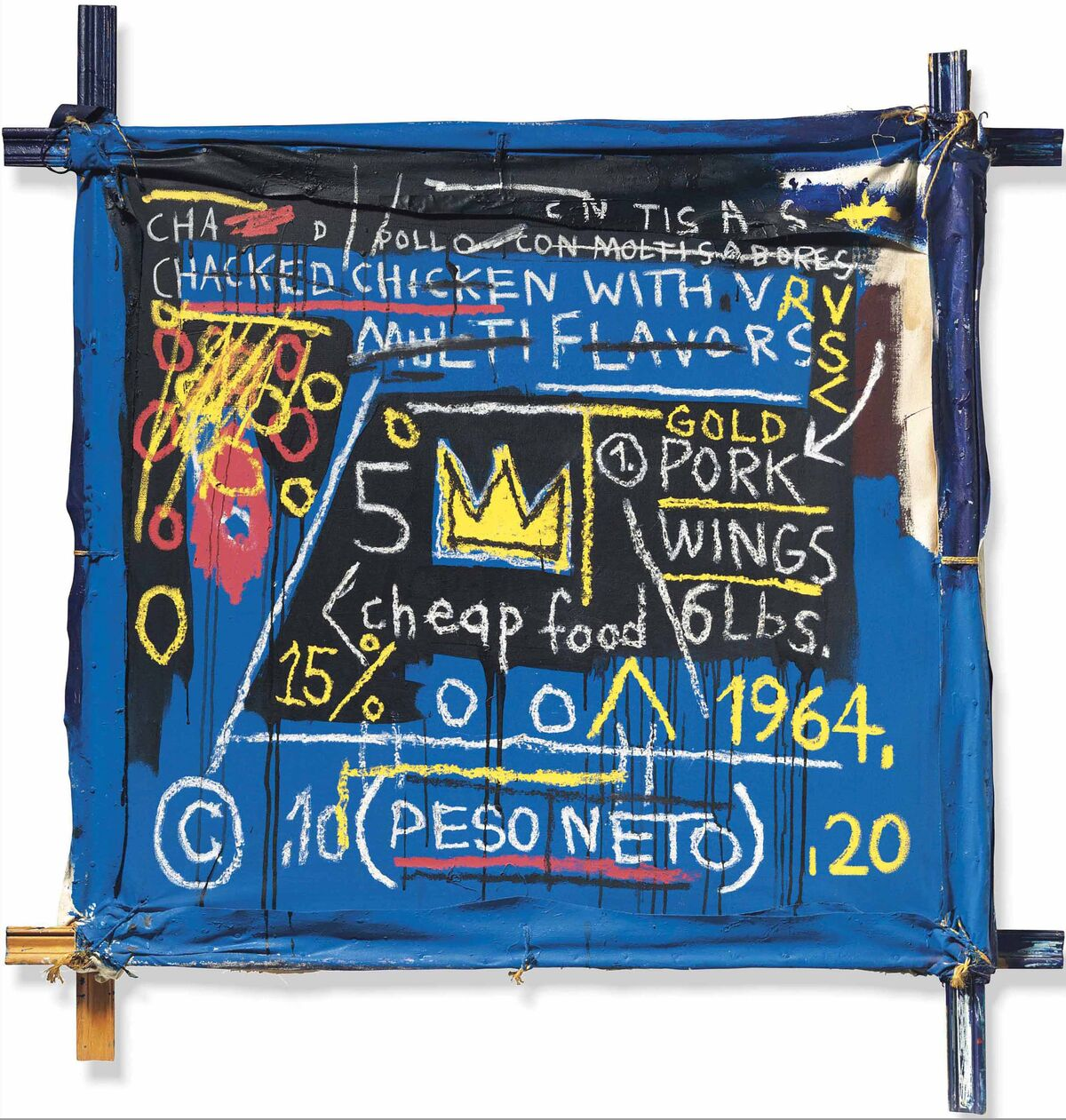 Jean-Michel Basquiat, Multiflavors, 1982. © Christie's Images Limited 2018.