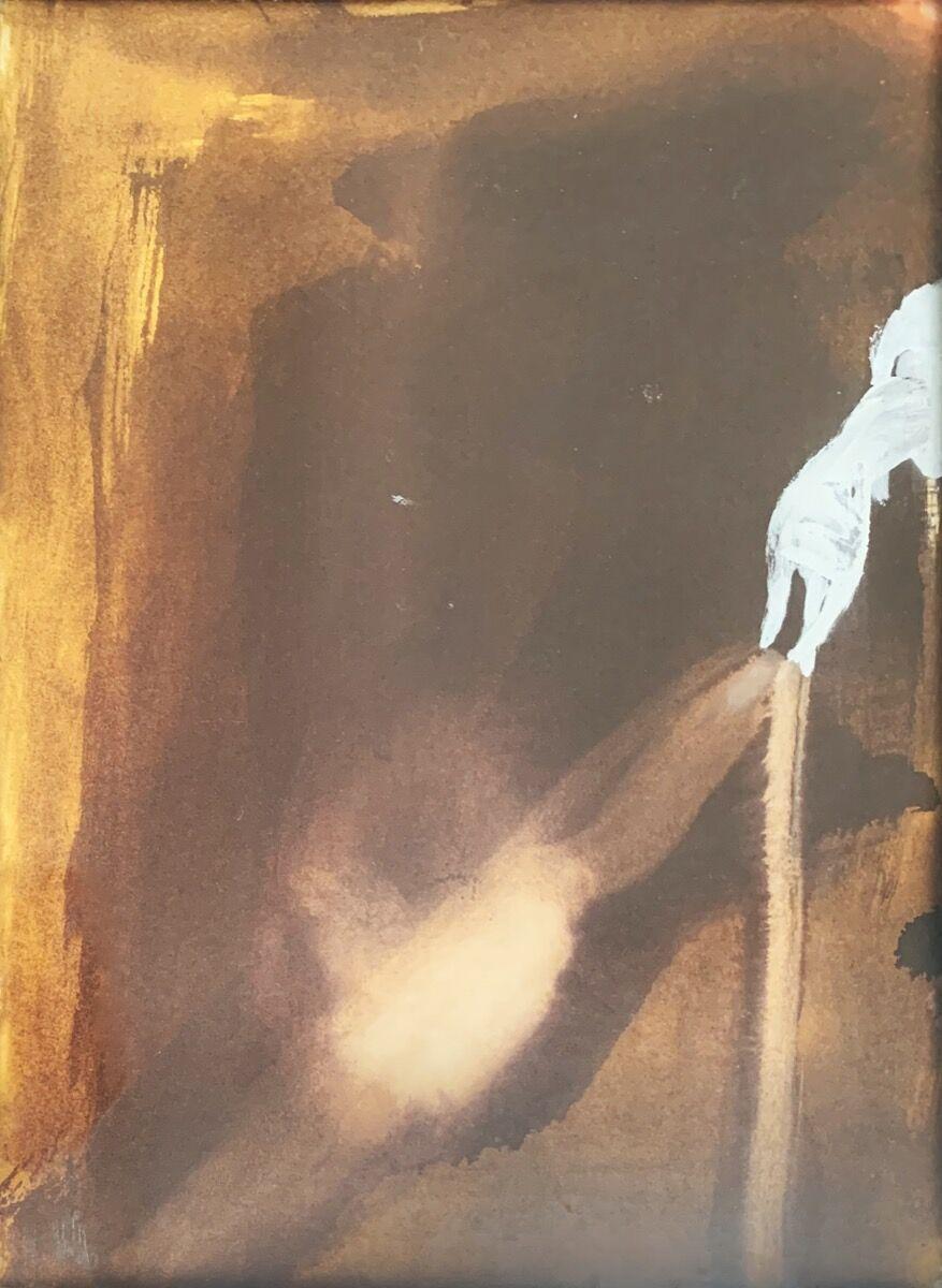 Ross Bleckner, Untitled, 1988. Courtesy of Eric Fischl, April Gornik, and the New York Academy of Art.