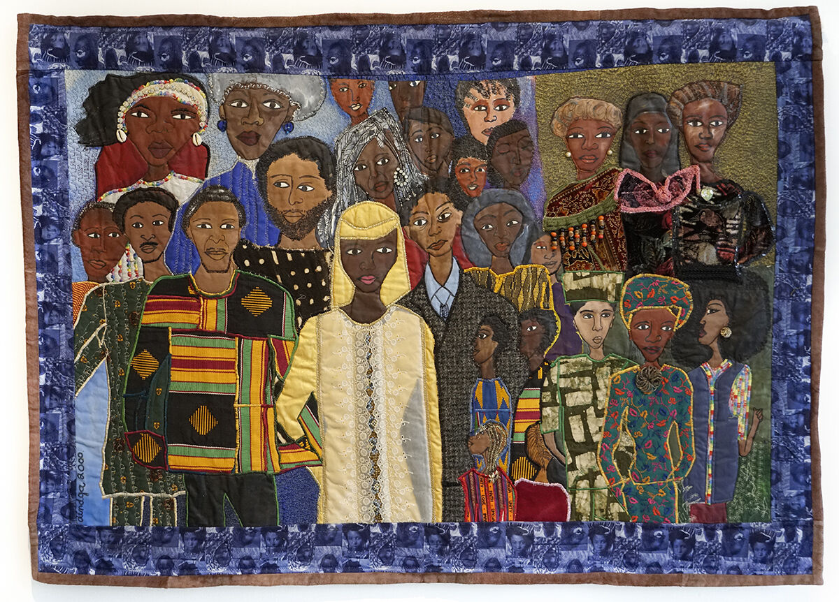 Dindga McCannon, The Wedding Party #2, The History of Our Nations is the Stories of Our Families, 2000. Courtesy of the artist and Fridman Gallery.