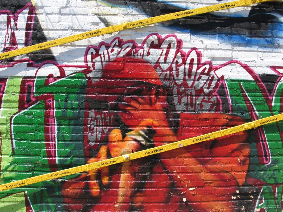 Graffiti art by 5Pointz, 2007. Photo by Chris Messley, via Flickr.