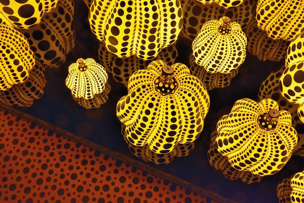Yayoi Kusama, All the Eternal Love I Have for the Pumpkins, 2016 (detail). Photo by jpellgen, via Flickr.