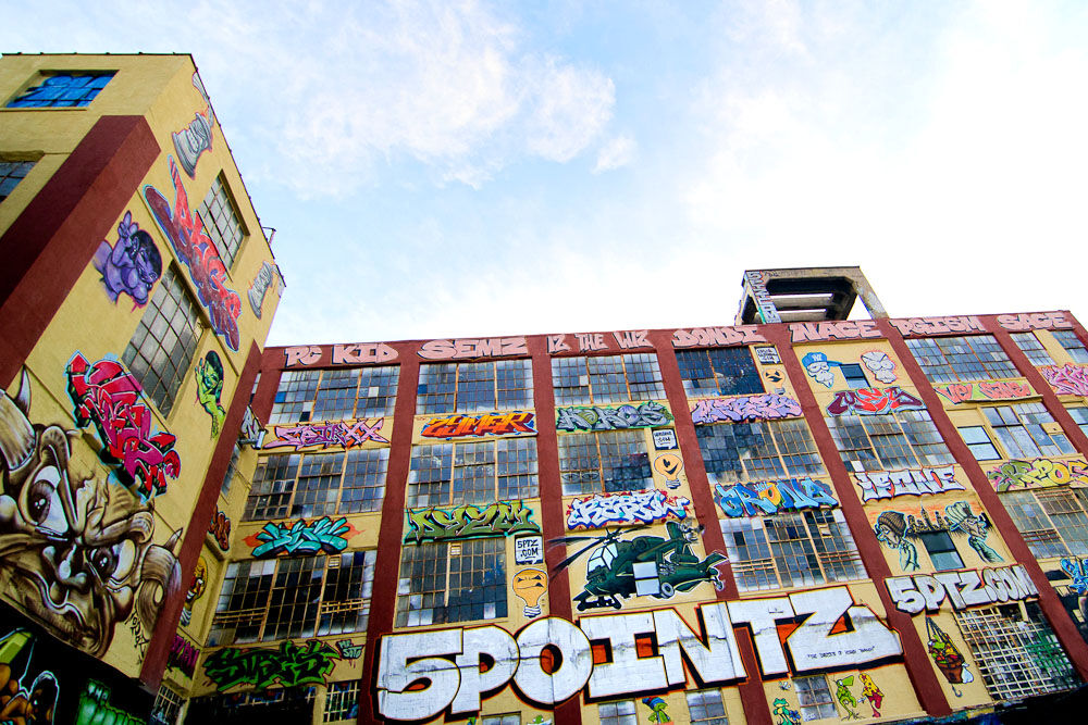 5 Pointz Art. Photo via erin on Flickr.