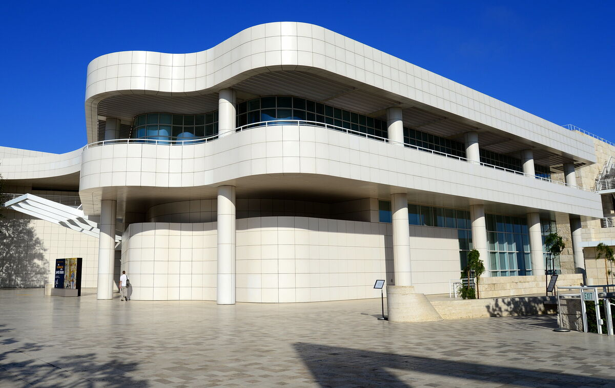The Getty Museum in Los Angeles. Image via Flickr.