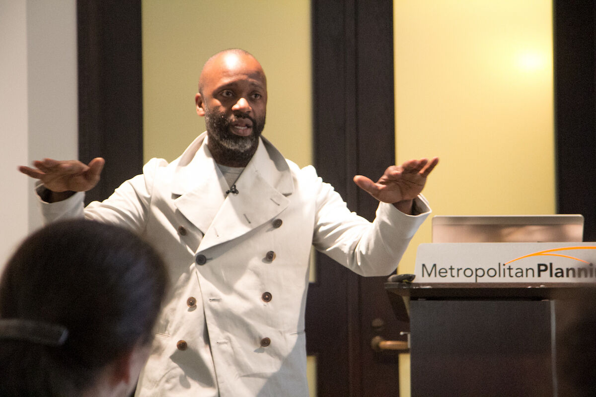 Theaster Gates. Photo by the Metropolitan Planning Council, via Flickr.