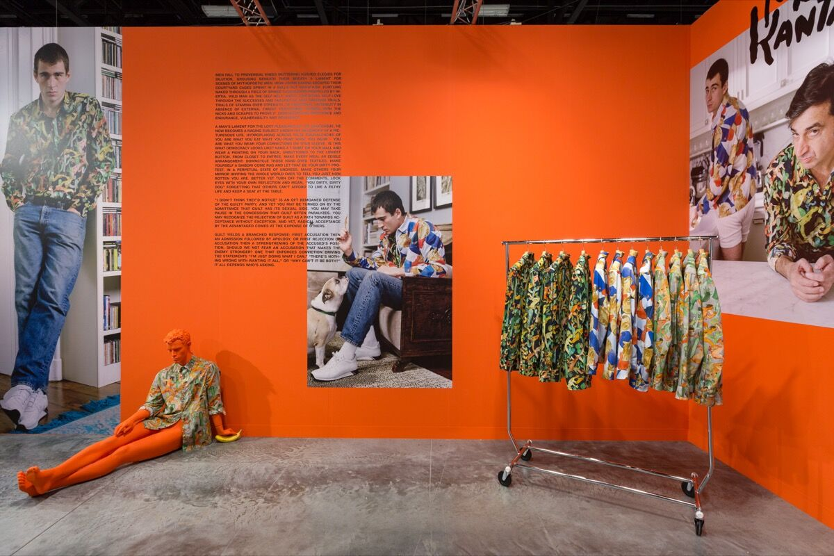 Installation view of Tanya Leighton's booth at Art Basel in Miami Beach, 2017. Photo by Alain Almiñana for Artsy.