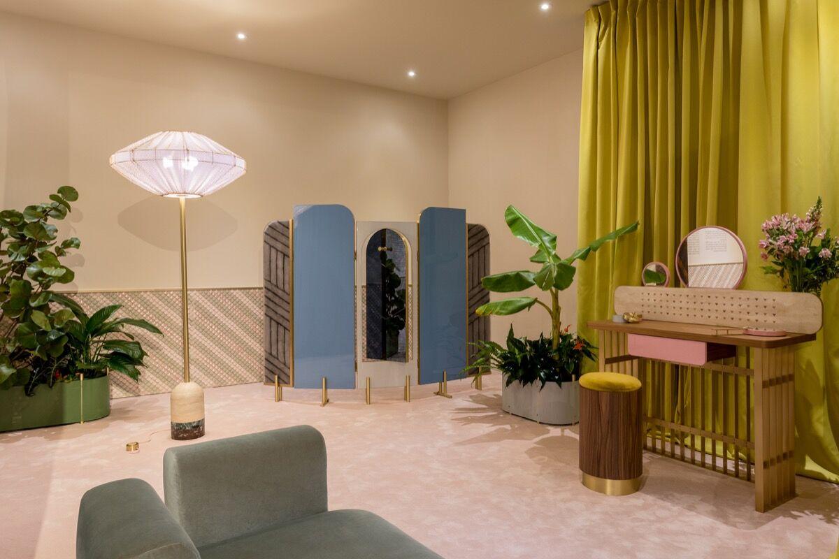 Installation view of FENDI's booth at Design Miami/, 2016. Photo by Alain Almiñana for Artsy.