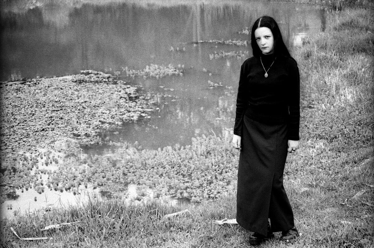 "María Isabel Rueda, from the series ""Vampiros en la sabana,"" 2003. Courtesy of the artist."