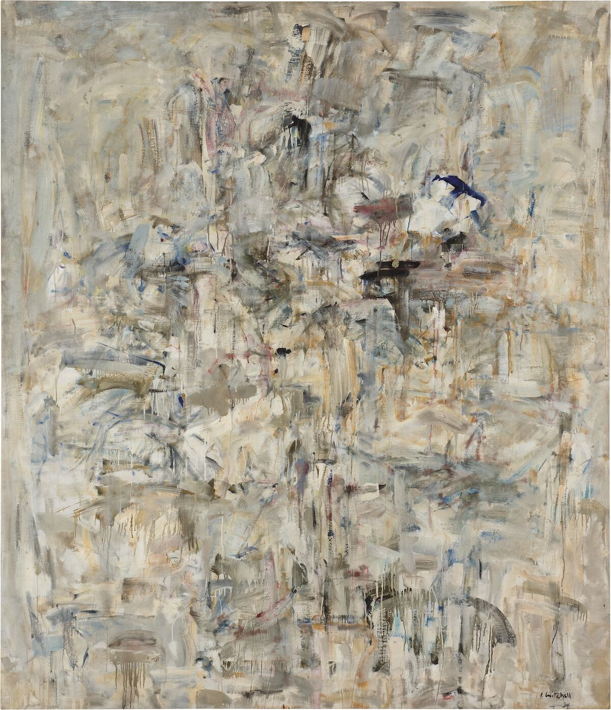 Joan Mitchell, Untitled, 1953–54. Courtesy of Phillips.