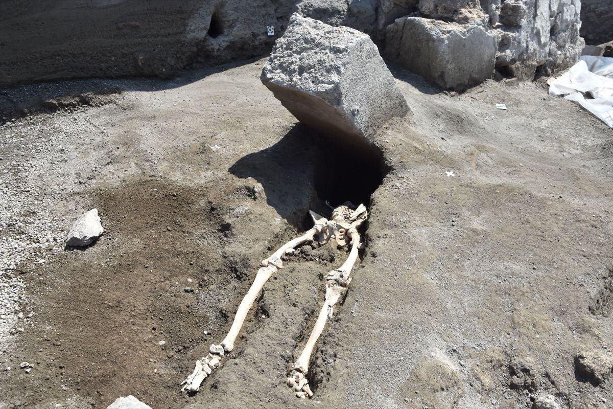 Photo by Soprintendenza Archeologica Pomp/KONTROLAB /LightRocket via Getty Images.